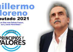 Guillermo Moreno Diputado 2021